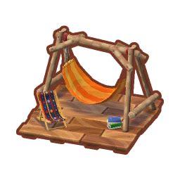 canvas hammock lv  animal crossing pocket camp wiki