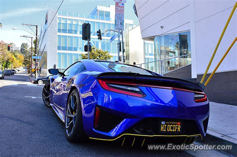 acura nsx spotted in los angeles california on 04 08 2018