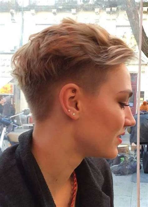 latest short hair cuts  woman