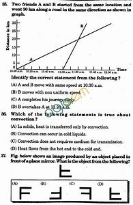 Nstse 2010 Solved Question Paper For Class Vii