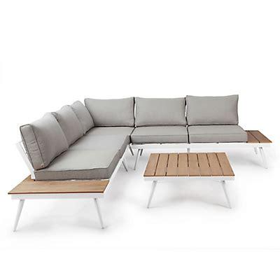 canapé alinea salon de jardin fauteuil banc mobilier de jardin alinéa