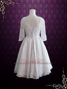 Finding A Vintage, Tea Length Wedding Dress Whirling ...