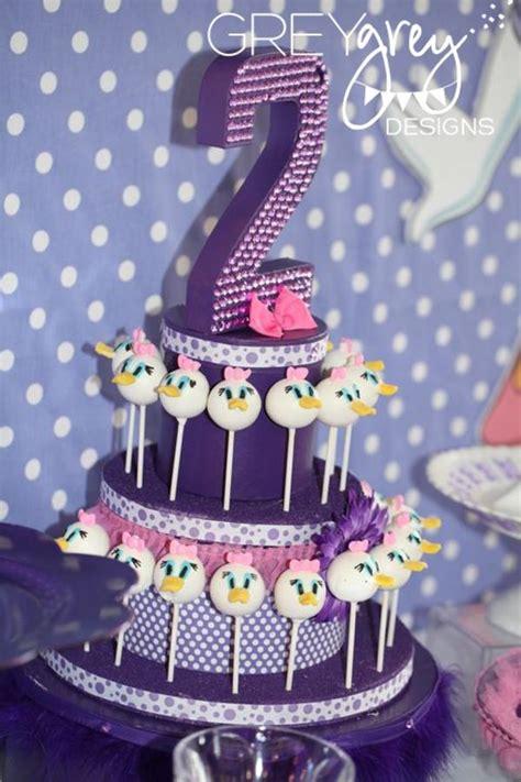 karas party ideas disney daisy duck purple girl