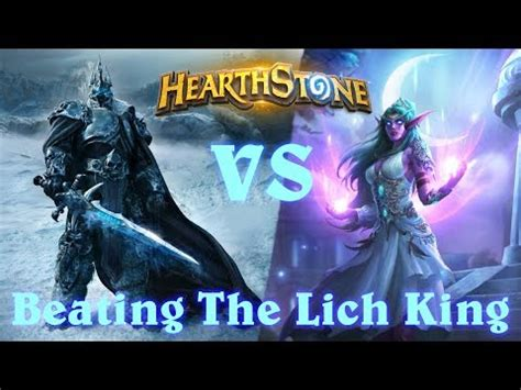 Decks To Beat The Lich King by Cheap Druid Deck To Beat Lich King 28 Images The Lich