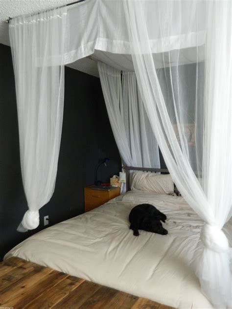 black canopy bed curtains bedroom interior design with wood canopy bed with