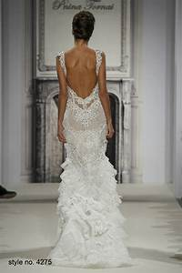 daring and sexy pnina tornai wedding dresses spring 2014 With no back wedding dress