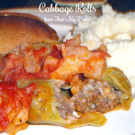 recipe for cabbage rolls cabbage rolls ii recipe dishmaps