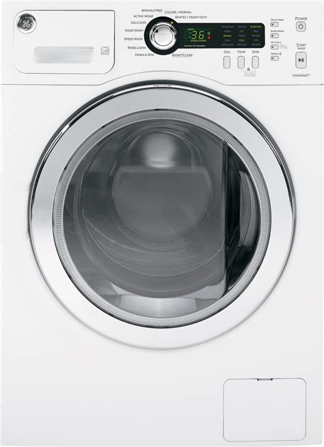 wcvhkww ge   cu ft front load washer white energy star
