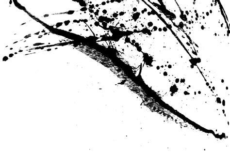 Abstract Black Color Splash by Ink Splatter Black Acrylic Paint Splash Custom Wallpaper