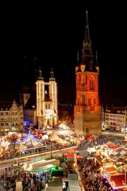 Weihnachtsmarkt Hallesaale Foto & Bild Reportage