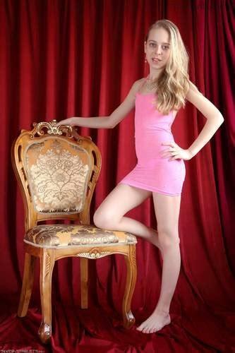 Silver Starlets Anastasia Pink Dress 1 X Teenmodels