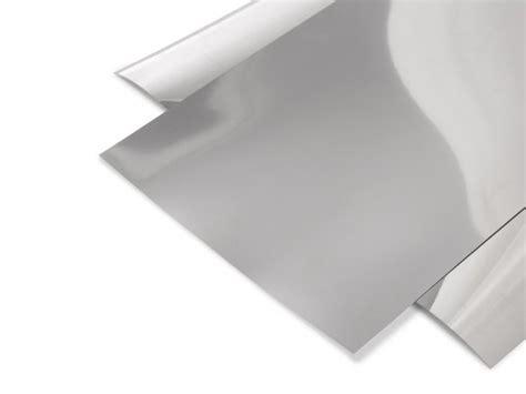 hart pvc folie pvc hart spiegelfolie silber glatt kaufen modulor