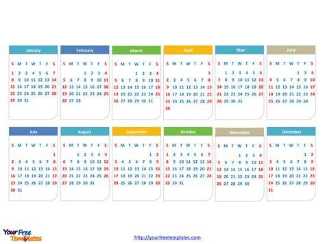 calendar template for powerpoint free calendar 2017 powerpoint template free powerpoint