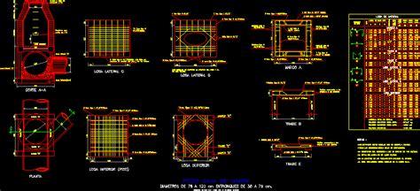 pit junction box dwg detail  autocad designs cad