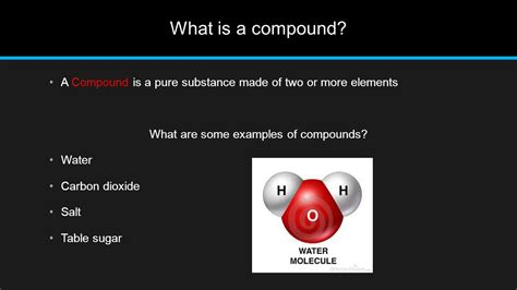 is table salt a compound 7th grade chemistry ppt video online download