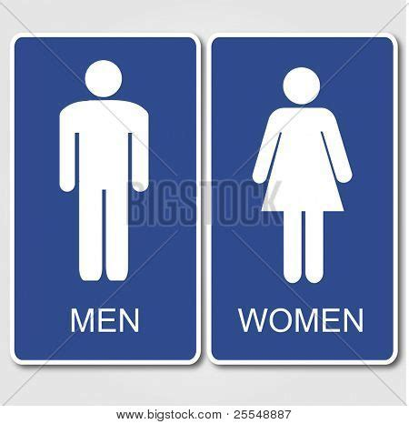 Printable Bathroom Occupied Signs by Restroom Signs Illustration Stock Vector Stock Photos