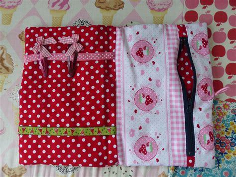 couture accessoire cuisine couture facile trousse à barrettes et protège cahier de