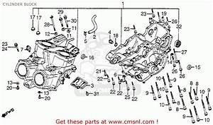 Honda Vf750c V45 Magna 1983 Usa Cylinder Block