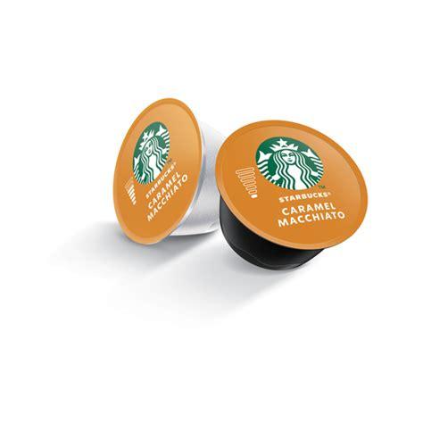 Starbucks® have launched four distinct types of nespresso compatible capsule. STARBUCKS Caramel Macchiato by Nescafe Dolce Gusto Coffee Capsules 12 Cap 128g Black | New PGMall
