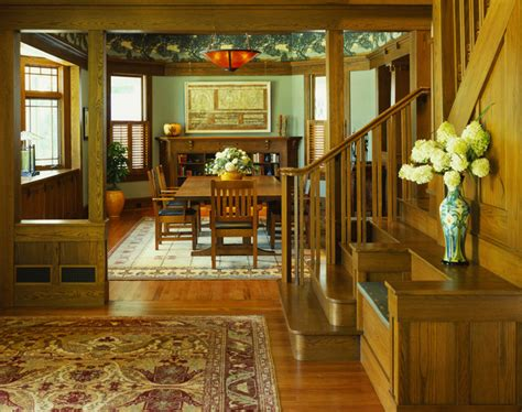 arts and crafts home interiors tropical craftsman craftsman dining room dc metro