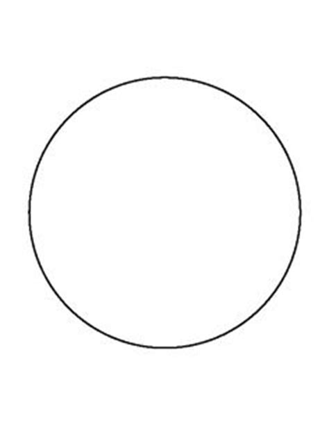 Psd Template 6 Circles 3 Inch Diameter 8 Inch Circle Template Diy Shape