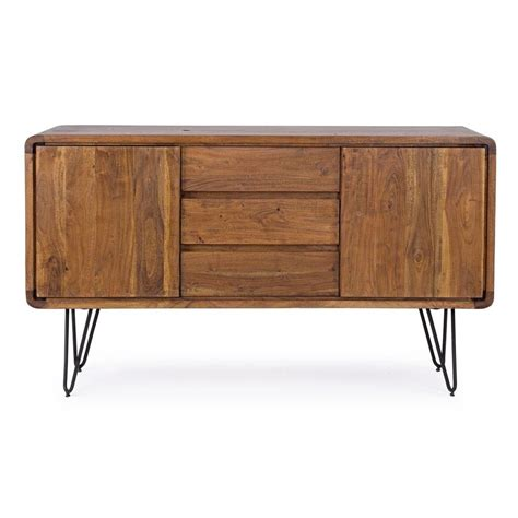 vintage credenza nairobi cabinet credenza vintage in legno e metallo