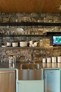 rock kitchen backsplash 40 awesome kitchen backsplash ideas decoholic
