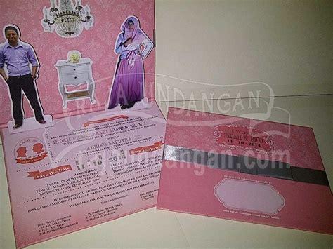 desain undangan pernikahan syari kata kata mutiara