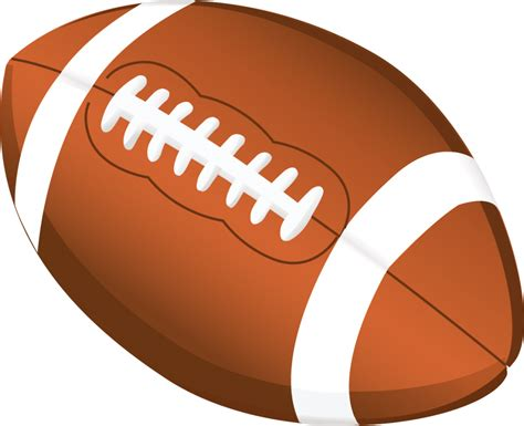 Football Clipart Football Clip With Transparent Background Clipart