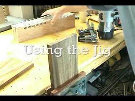 mlcs woodworking  dovetail templates youtube
