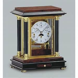 Kieninger Artemis Mechanical Mantel Clock - Calender 1246