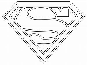super heroes coloring art print pages colouring for adults With superman template for cake