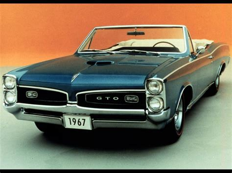 Pontiac GTO 1967 pictures - classic cars