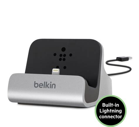 belkin iphone charger genuine belkin charge sync desktop dock charger for