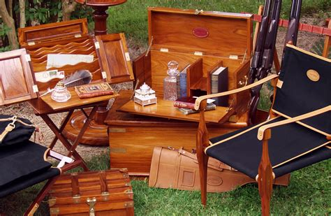 british campaign furniture  woodworking