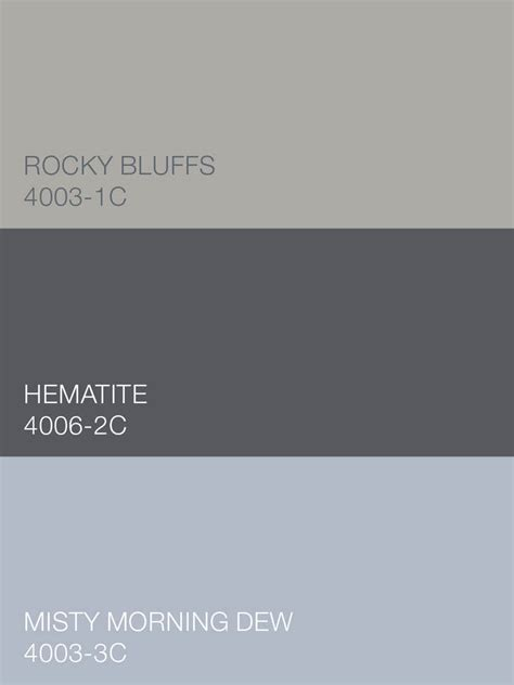 valspar color selector pale smoky pretty rocky bluffs 4003 1c hematite 4006