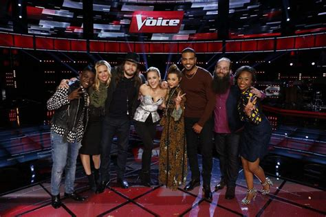 the voice 2016 top 8 winners cast of contestants season