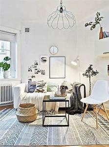 Tapis Scandinave Rose : tapis de salon scandinave moderne lavable noir clair pour gris redoute blanc rouge machine rond ~ Teatrodelosmanantiales.com Idées de Décoration