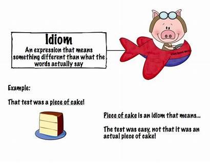 Examples Idiom Define Figurative Language Idioms