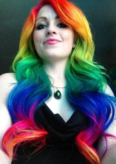 21 Fabulous Rainbow Hair Color Ideas 2016 2017 On Haircuts
