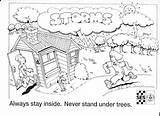 Earthquake Coloring Colour Template Pages Ses Preparedness sketch template