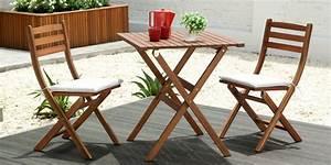 Table De Jardin Balcon Chaise Exterieur Maison Email