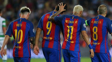 Barcelona's MSN run riot as the UEFA Champions League ...