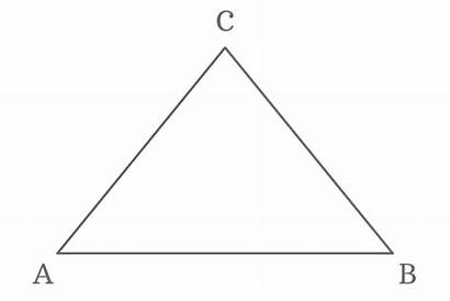 Triangle Equal Isosceles Sides Angles Opposite Length