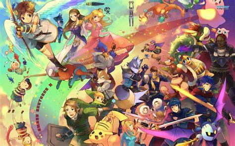 Smash Bros Anime Wallpaper - smash bros wallpapers wallpaper cave
