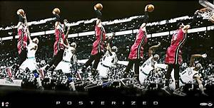 Photo; Poster of LeBron Dunking on Jason Terry Cost $899 | BSO