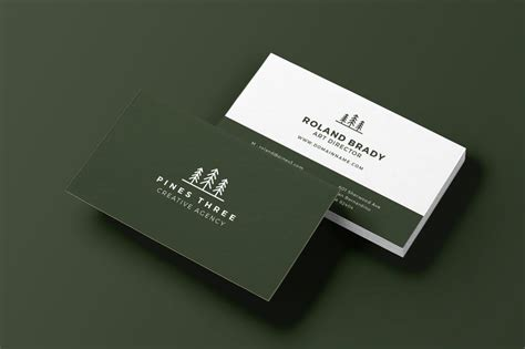 landscaping business cards youll love  print