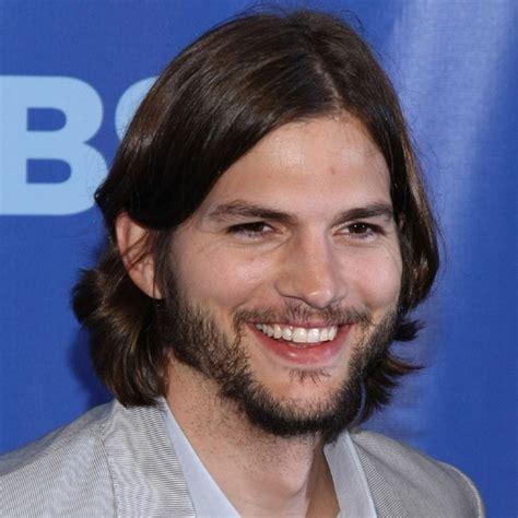 Ashton Kutcher   Beards & long hair men   Pinterest