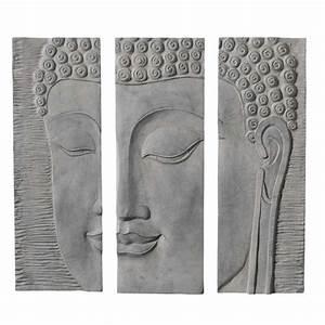 triptyque bouddha maisons du monde With bouddha maison du monde