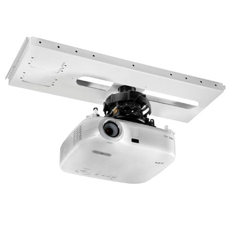projector mount drop ceiling grid peerless kwik loc lightweight above grid adjustable